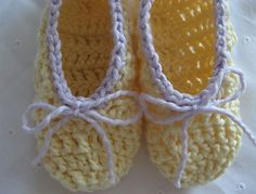 crochet pattern: in-a-jiffy slippers for your princess