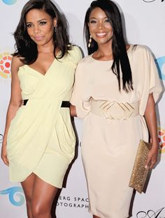 Sanaa Lathan and Gabrielle Union.. two of the most beautiful women in world!
