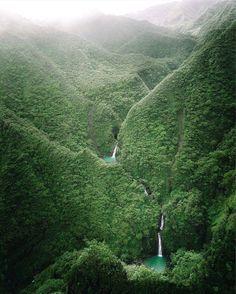 Sacred Falls, Oahu, Hawaii