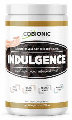 A Decadent Chocolate Superfood Drink Loaded with Grass-Fed Collagen .that Rejuvenates Your Hair and Skin Hot Chocolate Mix, Decadent Chocolate, Chocolate Flavors, Collagen Protein, Ketogenic Lifestyle, Gut Health, Superfood, Pantry, The Cure