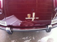 Front Hood of 1968 911-L after body and paint job 9-20-2013