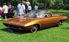 1960 Corvair Forcasta by Darryl Starbird Strange Cars, Weird Cars, Cool Cars, Crazy Cars, Design Retro, Retro Futuristic, Futuristic Vehicles, Unique Cars, Us Cars