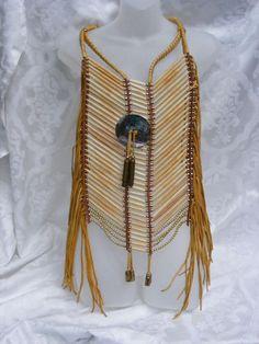 how to make a native american breastplate