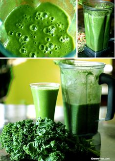 10+ Kale Smoothie Recipes You'll Love! (Green Smoothies Rock:-) | Green Smoothie Recipes That Rock!
