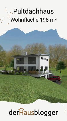 Bauhaus Architecture, Construction, Modern House Plans, Open Kitchen, House Goals, Recreational Vehicles, Shed, Floor Plans, Home And Garden
