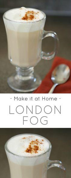how to make an iced london fog latte