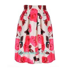 White and Pink Midi Floral Skirt Beautiful white and punk midi skirt with large floral print. Perfect paired with heels and a crop top. There is a side zip plus a lining that allows the skirt to maintain it's fullness. Waist fits 24.2- 31.2 inches. It is 25.4 inches long. Boutique Skirts A-Line or Full