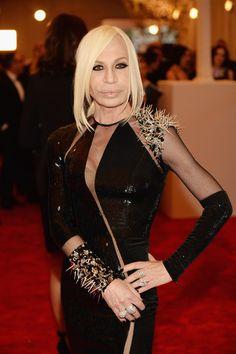 Donatella Versace at MET Gala 2013