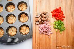 Delicious Omelet and Potato Breakfast Bites