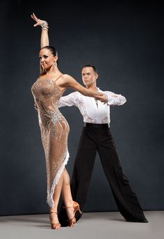 Russ and Katusha Wilder for Capezio #dancesport