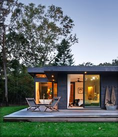 Robins Way - modern - exterior - new york - Bates Masi Architects LLC
