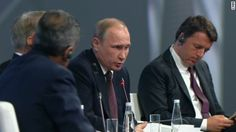 CNN's Fareed Zakaria got rare access to Russian President Vladimir Putin while addressing him in a panel discussion.