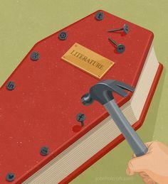 """As redes sociais estão """"enterrando"""" os hábitos de leitura?"""