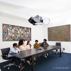 Energize your workspace! THE IMPACT OF COLOUR ON OUR LIVES  Color rhymes with mood. Color Of Life, Improve Yourself, Conference Room, Mood, Colour, Furniture, Art, Home Decor, Color