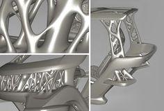 Voronoi Diagram, Genetic Algorithm, Fluid Design, Electric Cars, 3d Printer, Geometry, Modeling, Printing, Organic