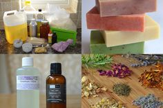 A homemade, natural soap recipe for beginners :-)