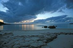Sunset over Lizard Island, Australia.