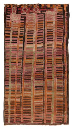 View this beautiful Vintage Moroccan Rug 45099 from Nazmiyal's fine antique rugs and decorative carpet collection in NYC. Vintage Colors, Vintage Rugs, Textiles, Art Chinois, Morrocan Rug, Berber Rug, Tribal Rug, Room Colors, Kilim Rugs