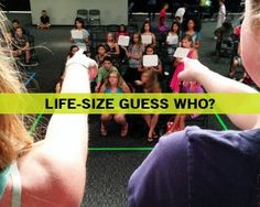 Life-Size Guess Who? - Fun Ninja Youth Group Games | Fun Ninja Youth Group Games