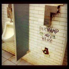 Duchamp WaS HeRe :)