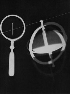 Man Ray uses three dimensional to give the viewer an idea of depth of field in this photogram giving it death and dynamics.