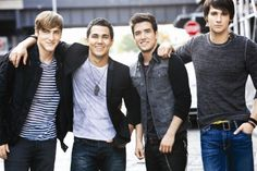 Big Time Rush, Really stylish guys with a thirst for looking good! They rock simple casual and make it work!