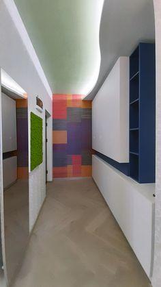 Bold Colors, Colours, Hallway Designs, Design Projects, Budget, Interior Design, Medium, Home Decor, Nest Design