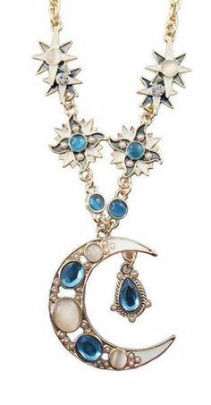 Lightrain Constellation Virgo Pendant Necklace Vintage Bronze Chain Statement Necklace Handmade Jewelry Gifts