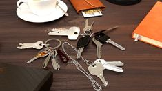 AmazinGizmo Key Holder Organizer - a pocket gadget that keeps your keys under control. Saves your pockets from wear and tear by messy keychain, silent and reliable solution to the bulge of your keys Key Organizer, Household Organization, All The Colors, Gadget, Save Yourself, Keys, Pockets, Personalized Items, Key
