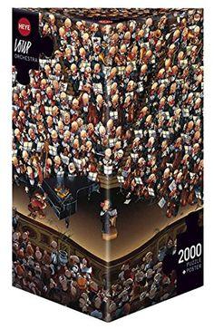 2000 Piece Puzzle, Puzzle Shop, Puzzle Art, Funny Puzzles, Jigsaw Puzzles, Wow Deals, Challenging Puzzles, Box Branding, Orchestra