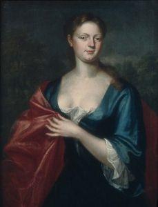 Mrs. William Dudley (Elizabeth Davenport) - John Smibert - The Athenaeum