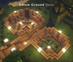 Plans Minecraft, Minecraft Farm, Minecraft Mansion, Minecraft Houses Survival, Minecraft Cottage, Easy Minecraft Houses, Minecraft House Tutorials, Minecraft House Designs, Minecraft Decorations
