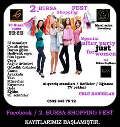 BURSA ALIŞVERİŞ FESTİVALİ BURSA SHOPPING FEST