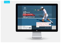WARSZAWIANKA Sport Club - webdesign by MiltonBrown , via Behance