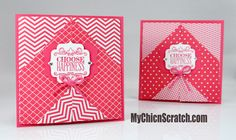 Choose Happiness stamp set and In Color DSP stack