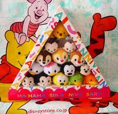 Rare TSUM TSUM Tokyo Disney Resort IKSPIARI Maihama 15th Exclusive Japan Store #Disney