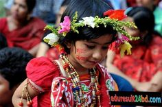 Pohela Boishakh Bengali New Year Photo Cards Costumes Around The World, Festivals Around The World, New Years History, Happy Bengali New Year, Shiva Parvati Images, New Years Traditions, New Year Photos, Facebook Profile Picture, Indian Festivals