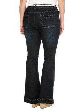 a2ee4f7aa74 Amazon.com  Torrid Plus Size Boom Boom Jeans - Patch Pocket Skinny Flair  Jeans  Clothing    just the name