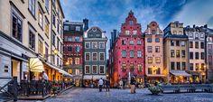 "Stortorget, Gamla Stan (Stockholm, Sweden) - <a href=""http://www.flickr.com/photos/dleiva/sets/72157634341998770/show/with/9141653646/"">Set of ""Sweden"" click here</a>"
