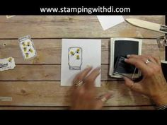 Stamping With Di: Jar of Love Easel Card Tutorial