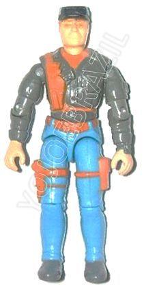 Descrição:  O Pegásus (Pegásus) foi lançado no Brasil em 1995 (Série 12) pela companhia de Brinquedos Estrela, a figura corresponde ao modelo straight arm (sem movimento nos cotovelos). Trata-se da versão nacional do Transport Expert [Cross Country] fabricado em 1993 pela Hasbro pela série G.I. JOE.