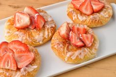 This flaky European-style Strawberry Cream Cheese Danish takes a while to prepare but the flavor and texture is unsurpassed. Taste rivals any high-end Parisian bakery.