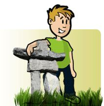 How to build and Inukshuk