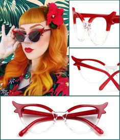 cd52804d28f3 Unique design brings an attractive look  veeglasses  gift  frames   christmas  eyeglasses  acetate  optical  red