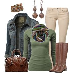 """Denim Comfort"" by smores1165 on Polyvore"