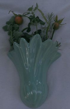 Vintage Wall Pocket Vase