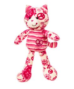 Take a look at this Mary Meyer Cat Lovely Footloose Plush Toy by Mary Meyer on #zulily today!