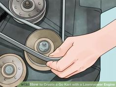 Image titled Create a Go Kart with a Lawnmower Engine Step 6