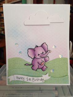 First birthday I Card, First Birthdays, Animals, One Year Birthday, Animales, Animaux, Animal, Animais
