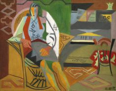 André Lhote, Portrait d'Anne en Buste, 1924